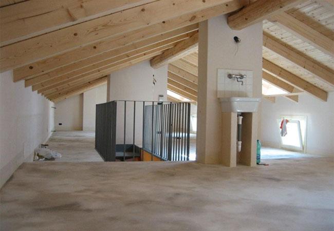 Bonomo costruzioni gallery 1 for Sottotetto in legno